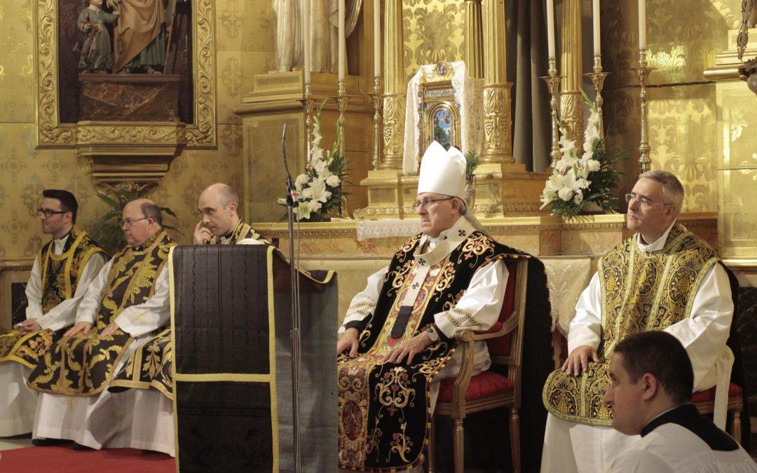 Don Braulio preside la Misa Requiem que da comienzo al XIII Festival de Órgano de Toledo en Santo Tomé