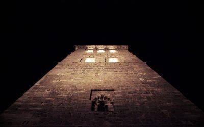 Nueva iluminación para la torre de Santo Tomé