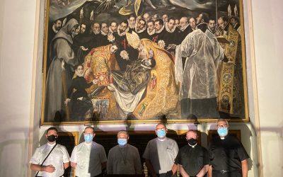 Excmo. Sr. Nuncio Apostólico en  España, de Visita en St. Tome